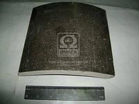 Накладка тормозная КАМАЗ ЕВРО (Трибо). 6520-3501105