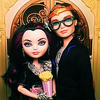 Куклы Рйвен Квин и Декстер Чарминг Эвер Афтер Хай из серии Ночное Свидание Ever After High Date Night Doll 2-P