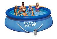 Надувной бассейн Intex Easy Set 28146 (56932) (366х91 см) и насос