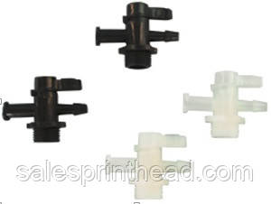 plastic 3-way valve
