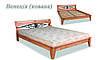 Кровать деревянная Венеция ковка ДОК