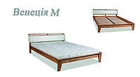Кровать деревянная Венеция мягкая ДОК, фото 1