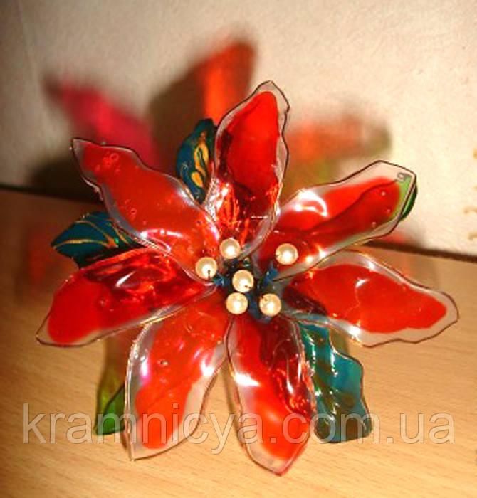 """Набор с витражными красками  """"Цветы и бабочки своими руками! - 2"""""""