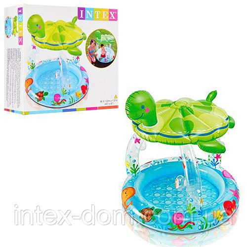 """Детский бассейн """"Морская черепаха"""" Intex 102х107 57119"""