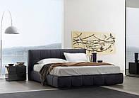 Современная кровать с прошитым изголовьем Super Soft фабрика San Giacomo (Италия)