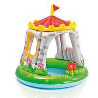 "Детский бассейн ""Королевский Замок"" Intex 122х122 57122"