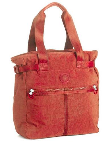 Яркая практичная тканевая сумка-шопер Roncato Rolling 7109/09 красный