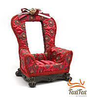 Подставка для украшений с зеркальцем элегантное кресло