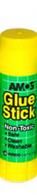 """Клей карандаш 15 гр. """" AMOS  """""""