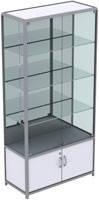 Сборка витрин из алюминиевого профиля