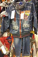 Детские стильные джинсовые костюмы от 3 до 8 лет S122