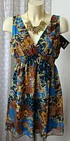 Платье женское летнее яркое легкое мини бренд SisterS point р.40-42 5922, фото 1