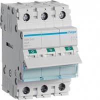 Выключатель нагрузки Hager 3-полюсный 400В/40А SBN340