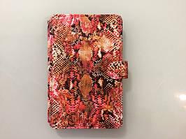 Чехол на планшет 7 дюймов MELENYUM (Розовая рептилия)