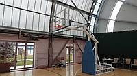 Стойка баскетбольная профессиональная клубная,мобильная вынос до 250 см