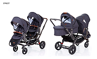 Детская универсальная коляска 2 в 1 для двойни ABC Design Zoom Style 2016