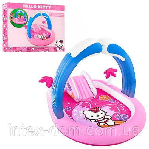 """Детский водный игровой центр """"Hello Kitty"""" Intex 211х163х121 57137"""