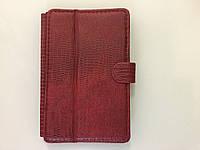 Чехол на планшет 7 дюймов MELENYUM ( коричневый винил)рептилия