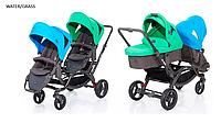 Детская универсальная коляска 2 в 1 для двойни ABC Design Zoom  2016