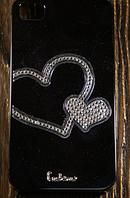 """Пластиковый Чехол """"Heart diamond"""" для Apple iPhone 4/4S Чехол-Накладка на мобильный телефон"""