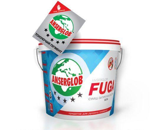 Затирочная смесь эластичная Fuga 1 кг (ширина шва до 6 мм)