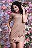 Женское стильно платье замша, фото 4