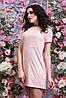 Женское стильно платье замша, фото 5