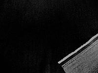 Джинс облегченный полированный (черный) стрейч (арт. 0437) отрез 1,15 м