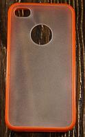 """Пластиковый Чехол """"Matted"""" для Apple iPhone 4/4S Чехол-Накладка на мобильный телефон"""
