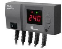 Регулятор температуры твердотопливного котла KG Elektronic CS-20