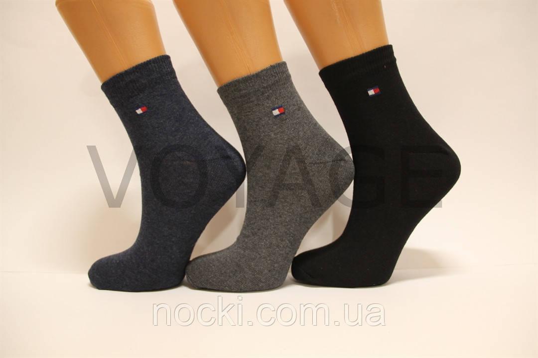 Стрейчевые женские носки Томми Хилфигер средние