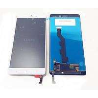 Дисплей (экран) Xiaomi Mi Note с сенсором (тачскрином) белый