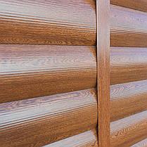 Металлический сайдинг под бревно (Золотой дуб), фото 2