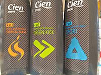 Cien Men -  мужской шампунь и гель для душа 2 в 1, 300 мл