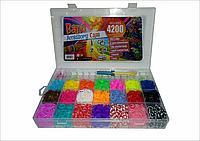 Набор резинок для плетения! 4200 шт.