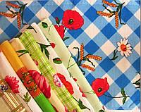 Вафельные полотенца в расцветках