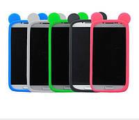 Универсальный силиконовый чехол для iPhone, Samsung, Lenovo с ушками, фото 1