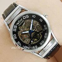 Бюджетные часы Winner Silver/Black/Silver