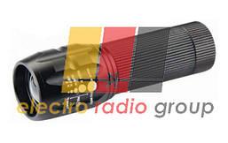 Фонарик Bailong BL-8400, Cree Q5, 1 режим, Zoom, корпус- алюминий, водостойкий, ударостойкий, 18650/
