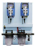 Автоматическая станция дозирования (Ph 6 л/ч  и Cl 6 л/ч) EMEC