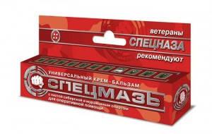 СПЕЦМАЗЬ універсальний крем-бальзам з ялицею сибірської і мурашиних спиртом