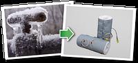 Термочехол для арматуры с электрообогревом