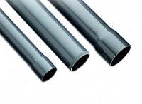 Труба ПВХ под клей клеевая.ПВХ напорная.Труба для водопровода клеевая.