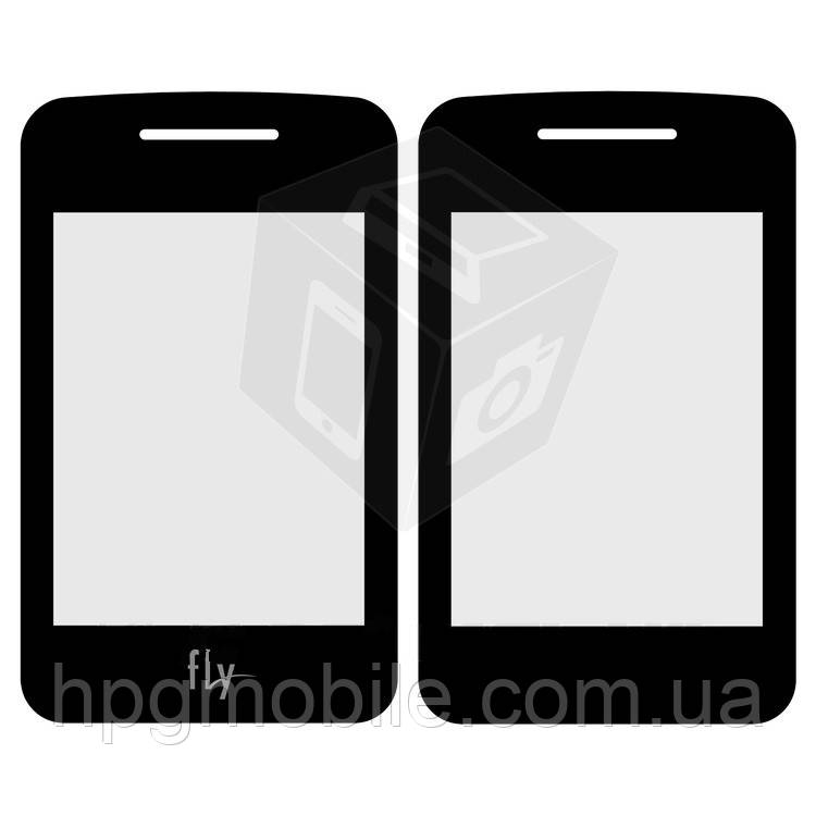 Защитное стекло корпуса для Fly EZZY Trendy, внутреннее, черное