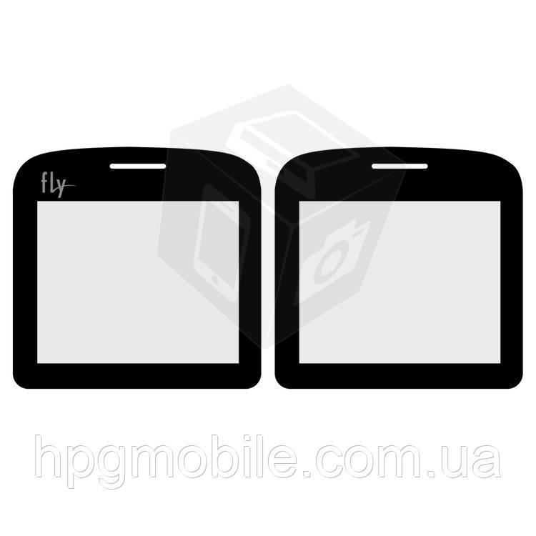 Защитное стекло корпуса для Fly EZZY 6, черное