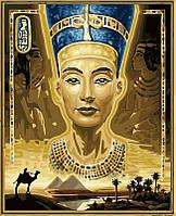 Раскраска по номерам Нефертити (VP422) 40 х 50 см