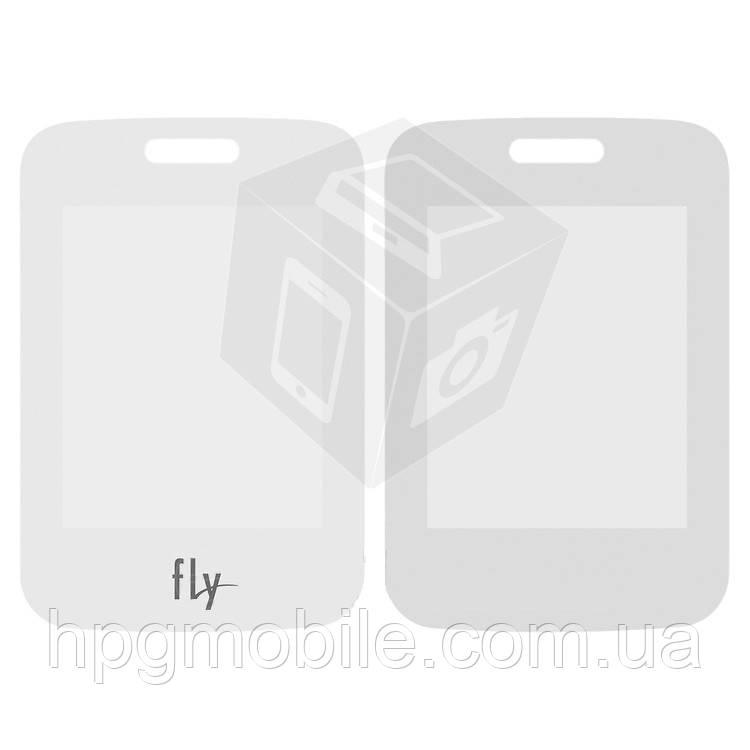 Защитное стекло корпуса для Fly FF177, белое