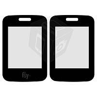 Защитное стекло корпуса для Fly FF177, оригинал (черное)