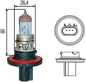 Автомобильная лампа H13 Hella 8GJ 008 837-121
