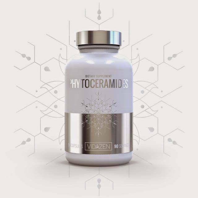 Фитокерамиды Vidazen, 40 мг, 90 капсул. 100% органические. Сделано в США